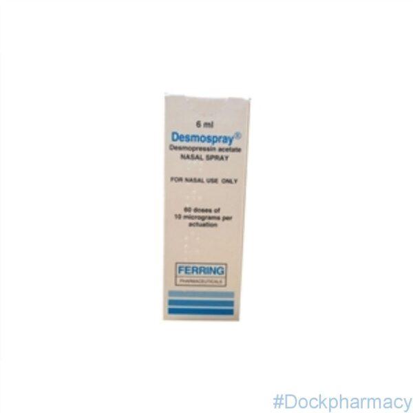 Desmospray (Desmopressin ) Nasal Spray 6ml