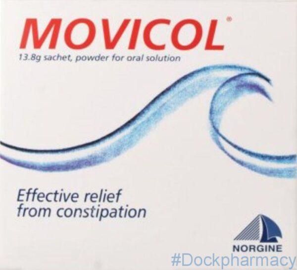 movicol sachets macrogol laxative