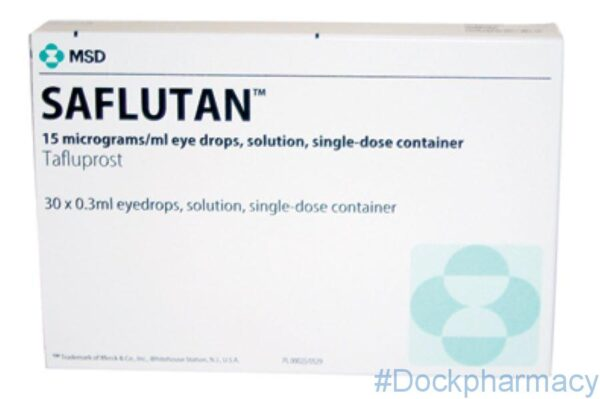 Saflutan (Zioptan, tafluprost) eye drops