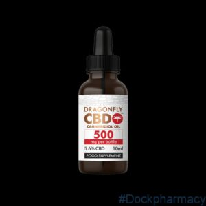 DragonflyCBD Narrow-Spectrum Oil 500mg (5.6% CBD) 10ml