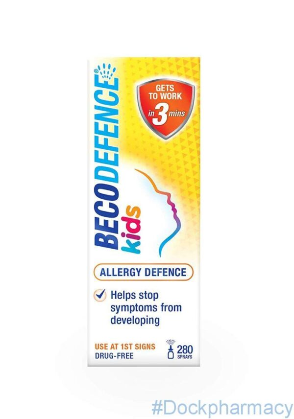 Becodefence Kids Allergy defence nasal spray