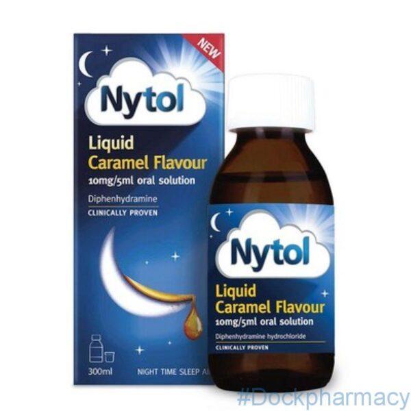 Nytol Liquid Caramel flavour 300ml