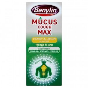 benylin mucus max cough honey and lemon