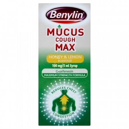 benylin mucus max cough honey and lemon