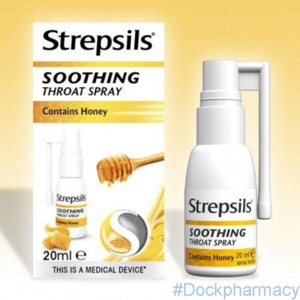 Strepsil honey soothing throat spray