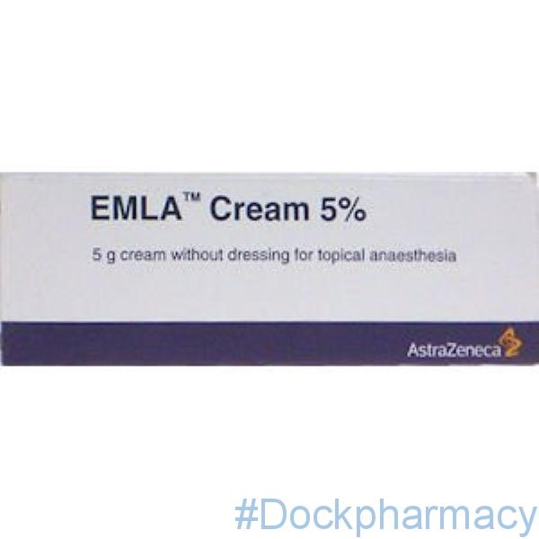 emla cream without dressing 5g