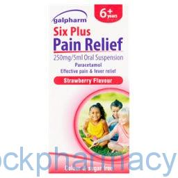 Paracetamol suspension six years plus 100ml