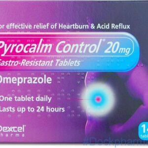 pyrocalm control 20mg omeprazole tablets