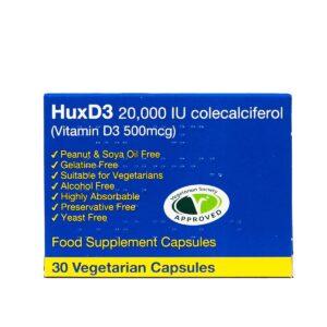 HUXD3 COLECALCIFEROL 20000IU Capsules