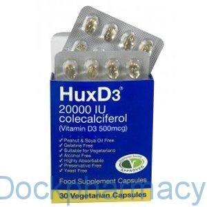 huxd3 20000iu capsules