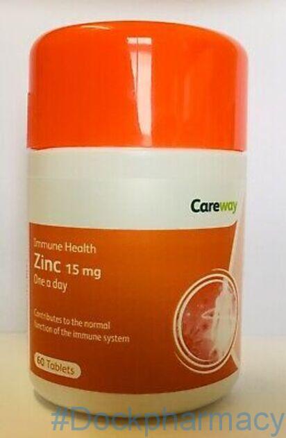 High strenght zinc tablets