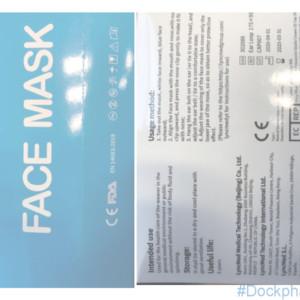 3 ply face masks earloop