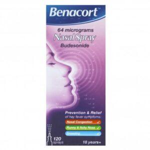 Benacort Hayfever Relief Budesonide Nasal Spray