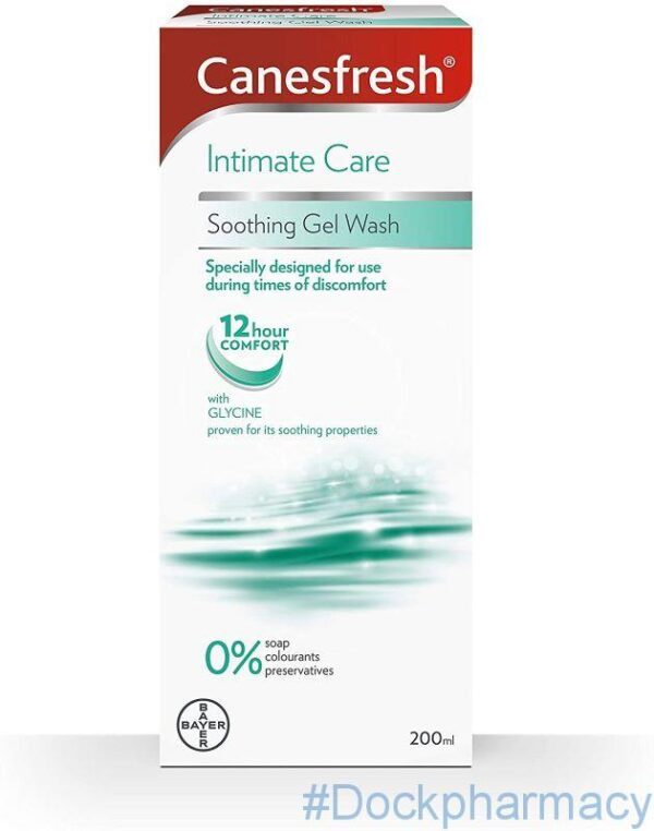 Canesfresh Soothing Intimate Hygiene Wash Gel, 200ml