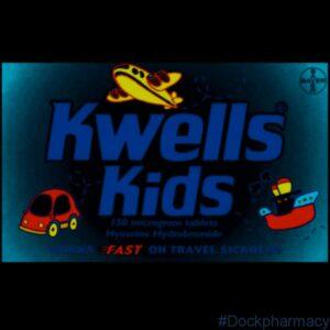 Kwells Kids Travel Sickness Tabs
