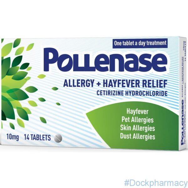 Pollenase-Allergy-Hayfever-Relief-10mg-Tablet