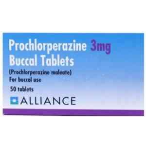 Prochlorperazine 3mg Buccal Tablets, 8 Tablets