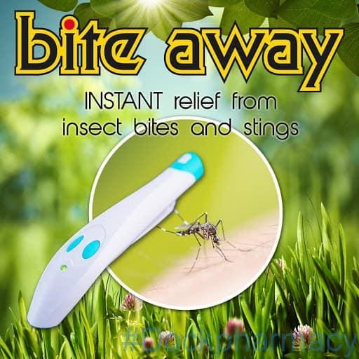 bite away insect bite relief device