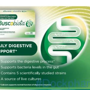 Buscobiota probiotic capsules
