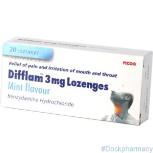 Difflam 3mg Lozenges mint