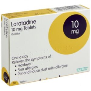 Loratadine 10mg One A Day Hayfever Relief Tablet