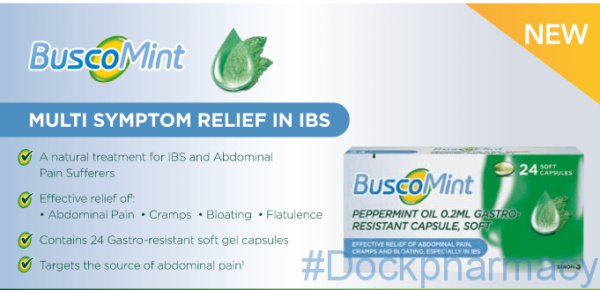 Buscomint Peppermint oil capsules