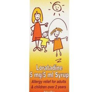 Loratadine Allergy Relief Oral Solution For Children