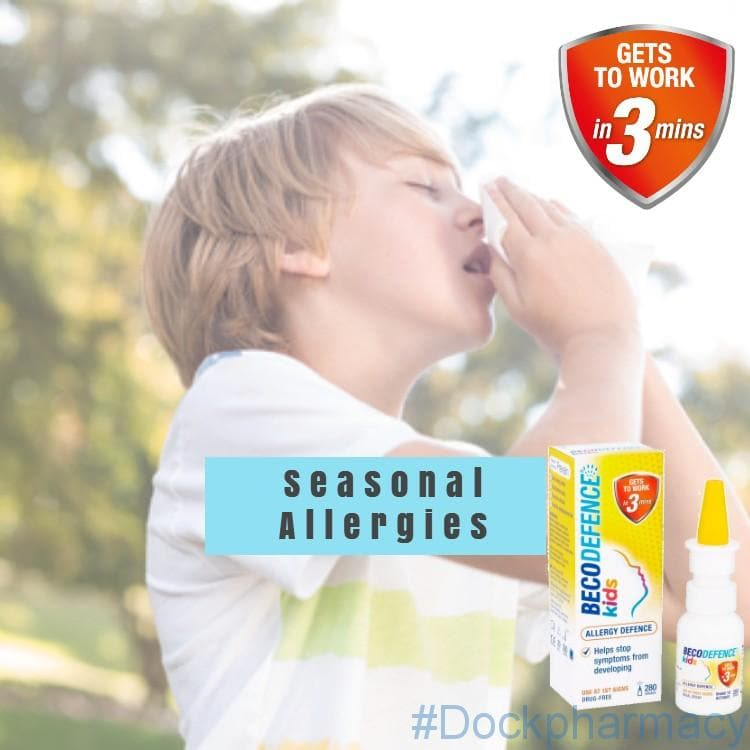 treat seasonal allergies with becodefence