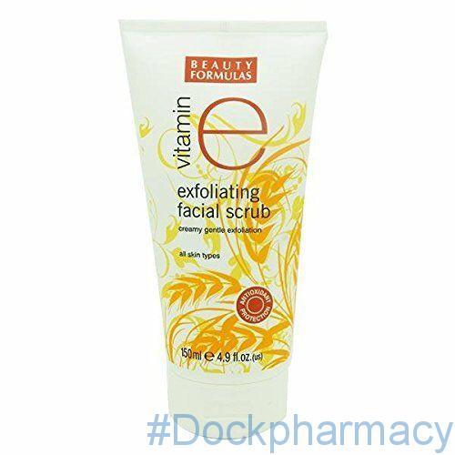Beauty Formulas Vitamin E Exfoliating Facial Scrub