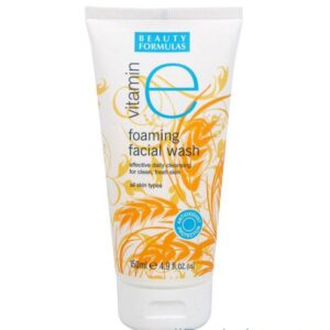 Beauty Formulas Vitamin E Foaming Facial Wash