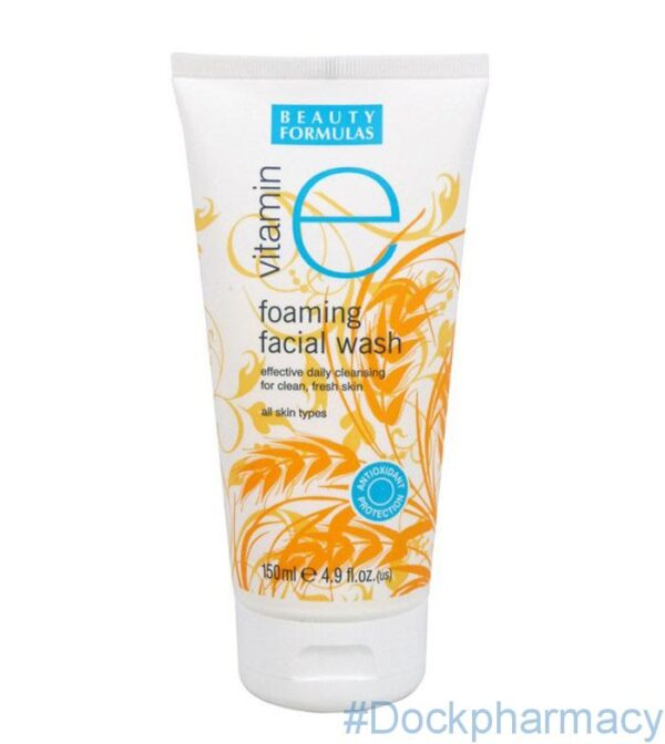 Beauty Formulas Vitamin E Foaming Facial Wash