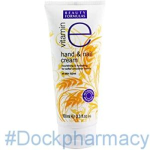 Beauty Formulas Vitamin E Hand And Nail Cream