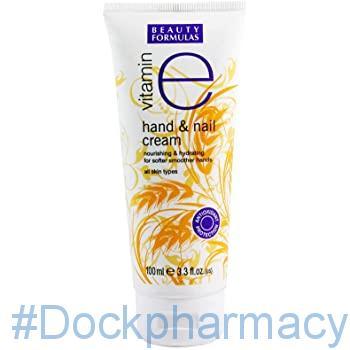 Beauty Formulas Vitamin E Hand And Nail Cream