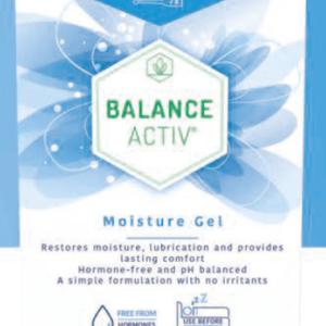 balance activ moisturising gel