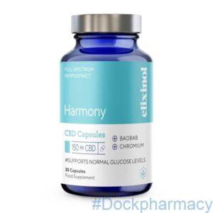 Harmony blended CBD capsules