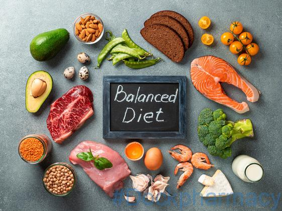healthy weight lose by having a balanced diet