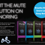 Stop snoring with Mute