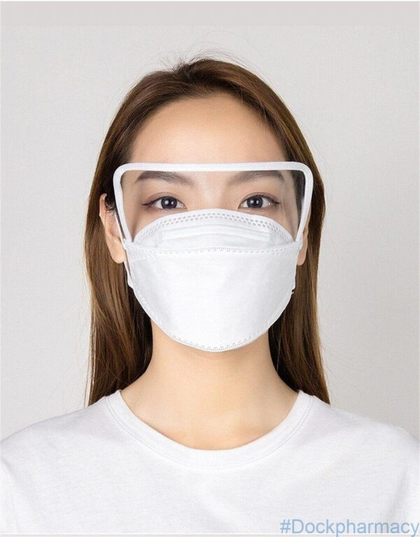 KN95 Face mask with eye shield
