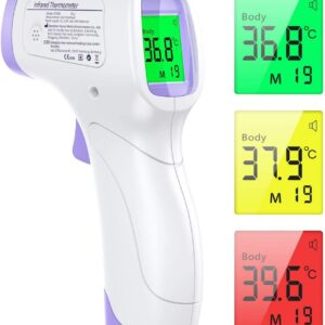 infrared non contact forehead thermometer