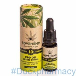love hemp cbd 10% oil 10ml