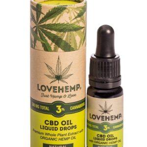 love hemp cbd oil 3%