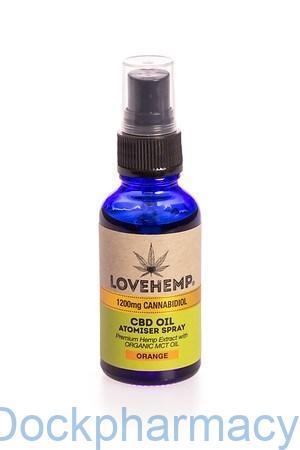 love hemp cbd oil spray 1200mg 30ml
