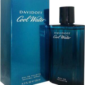 Cool Water Man By Davidoff Eau de Toilette 125ml Spray