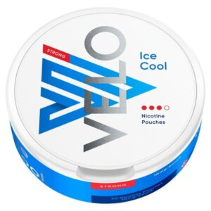 Buy VELO Nicotine Pouches Ice Cool 10mg 20 Pack