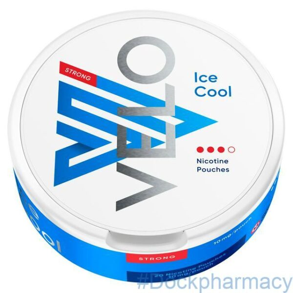 velo ice cool nicotine pouches 10mg