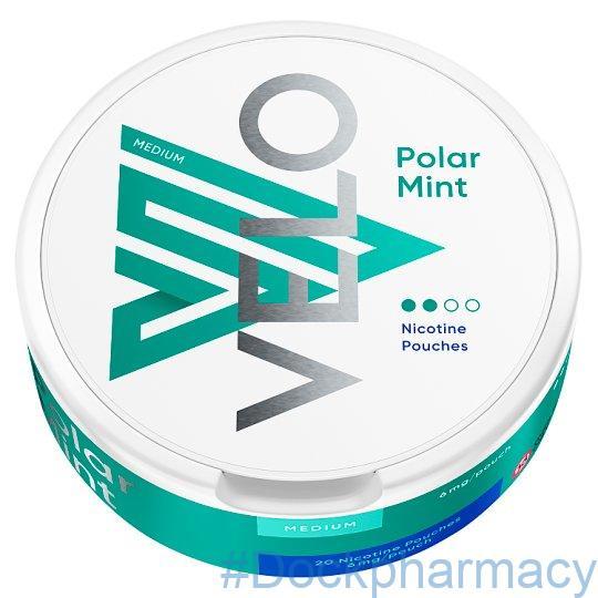 Velo Polar Mint Nicotine Pouches 6mg