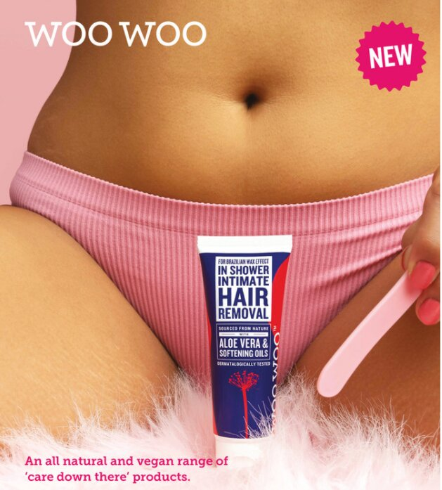 woos woo tame it hair removal cream