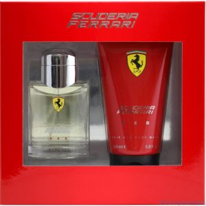 Scuderia Ferrari Red Eau de Toilette Spray Shower Gel Gift Set