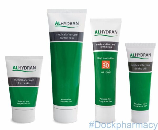 Alhydran Medical After Care Skin Cream for scars
