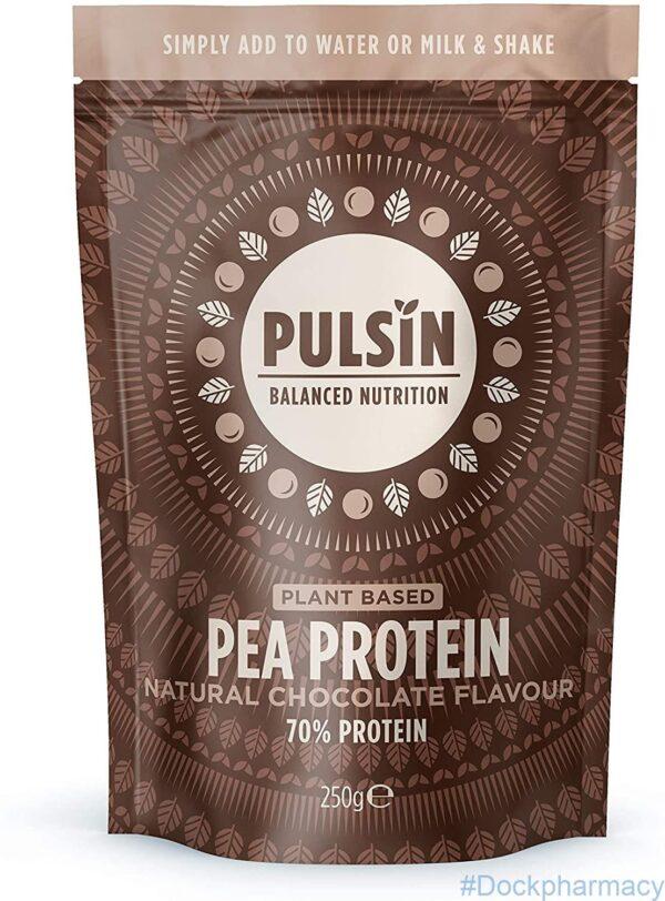 chocolate pea protein powder